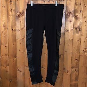Black dress leggings